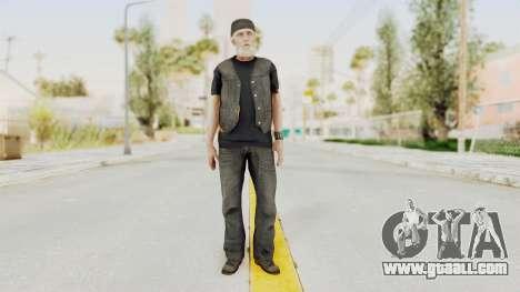 Alan Wake - Tor Anderson for GTA San Andreas second screenshot