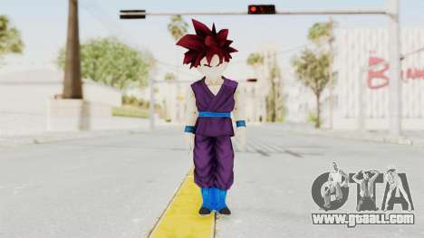 Dragon Ball Xenoverse Gohan Teen DBS SSG v1 for GTA San Andreas second screenshot