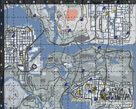 The interior of STO San Fierro for GTA San Andreas third screenshot