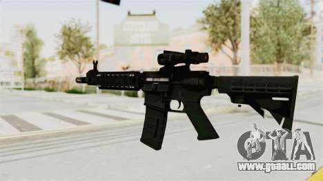 M4A1 SWAT for GTA San Andreas second screenshot