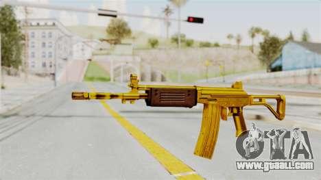 Galil Gold for GTA San Andreas