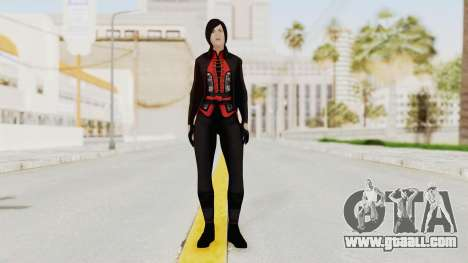 Batman Arkham Origins - Lady Shiva for GTA San Andreas second screenshot