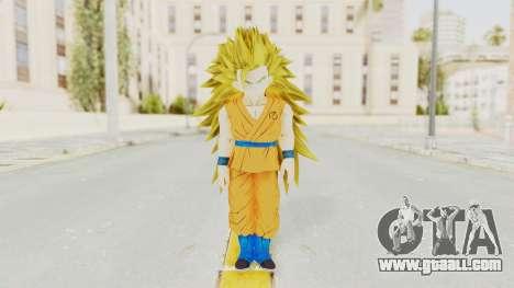 Dragon Ball Xenoverse Gohan Teen DBS SSJ3 v2 for GTA San Andreas second screenshot