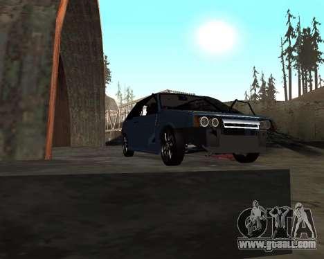 VAZ 2108 for GTA San Andreas interior