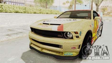 GTA 5 Vapid Dominator v2 IVF for GTA San Andreas interior