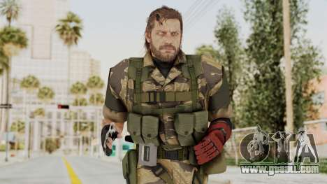 MGSV The Phantom Pain Venom Snake No Eyepatch v2 for GTA San Andreas