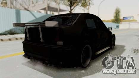 Dacia Logan Loco Tuning for GTA San Andreas right view