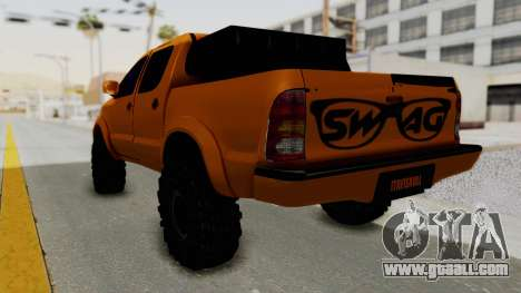 Toyota Hilux 2010 Off-Road Swag Edition for GTA San Andreas left view