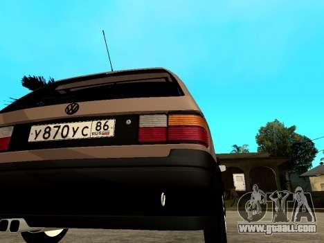 Volkswagen Passat B3 Variant for GTA San Andreas right view