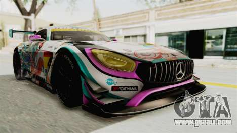 Mercedes-Benz SLS AMG GT3 2016 Goodsmile Racing for GTA San Andreas