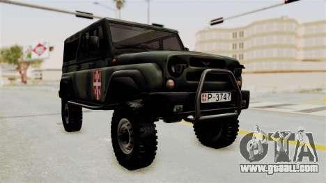 UAZ-3153 Hunter Serb forces for GTA San Andreas