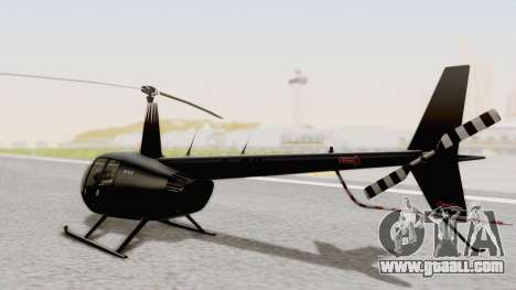 Helicopter de la Policia Nacional del Paraguay for GTA San Andreas left view