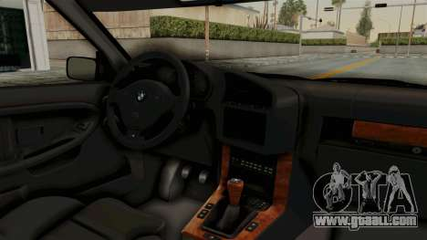 BMW 325i E36 Coupe for GTA San Andreas inner view