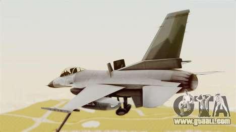 F-16 Fighting Falcon for GTA San Andreas right view