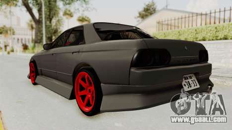 Nissan Skyline R32 4 Door Drift for GTA San Andreas left view