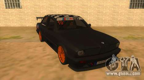 BMW 325i Turbo for GTA San Andreas back view