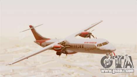 ATR 72-600 Air India Regional for GTA San Andreas back left view