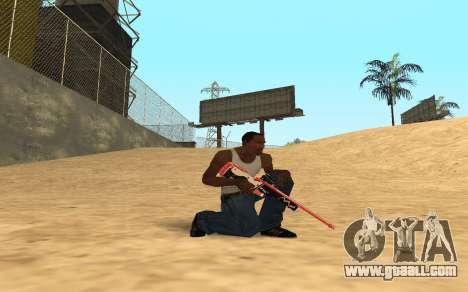 Rifle Cyrex for GTA San Andreas second screenshot