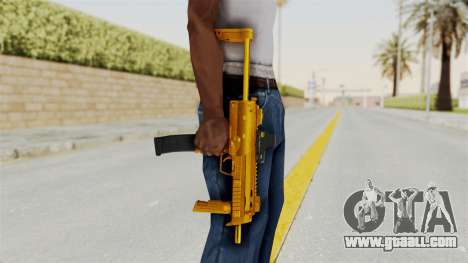 MP7A1 Gold for GTA San Andreas