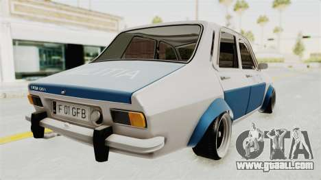Dacia 1300 Stance Police for GTA San Andreas left view