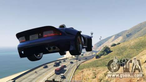 GTA 5 Simple Ramp Spawner With Speed Boost 0.3 second screenshot