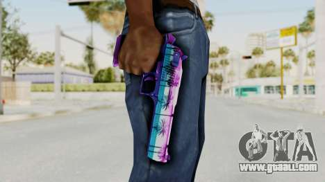 Vice Desert Eagle for GTA San Andreas third screenshot