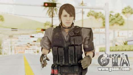 MGSV Phantom Pain Quiet XOF v1 for GTA San Andreas