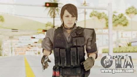 MGSV Phantom Pain Quiet XOF v1 for GTA San Andreas