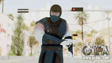 Mortal Kombat X Klassic Sub Zero v2 for GTA San Andreas