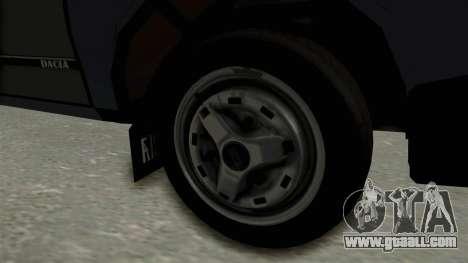 Dacia 1310 Funingi Taraneasca for GTA San Andreas back view