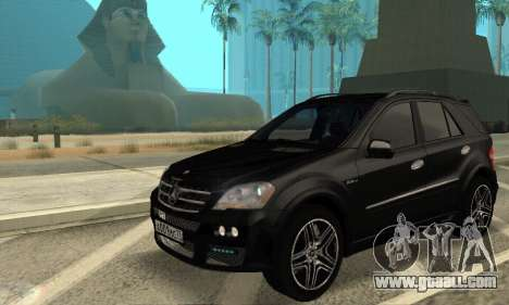 Mercedes-Benz ML 63 AMG for GTA San Andreas back view