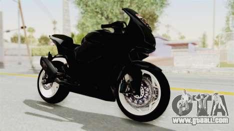 Kawasaki Ninja 250R Black Cobra RnB Anak Jalana for GTA San Andreas right view