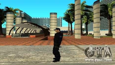 Police SWAT Skin for GTA San Andreas for GTA San Andreas forth screenshot