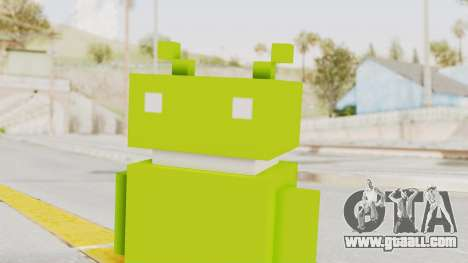 Crossy Road - Android Robot for GTA San Andreas