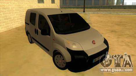 Fiat Fiorino Combi Mix for GTA San Andreas back view