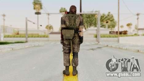 MGSV The Phantom Pain Venom Snake No Eyepatch v6 for GTA San Andreas third screenshot