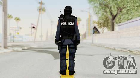 Albania Officer for GTA San Andreas third screenshot