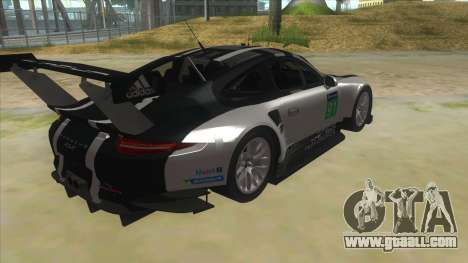 2016 Porsche 911 RSR for GTA San Andreas right view