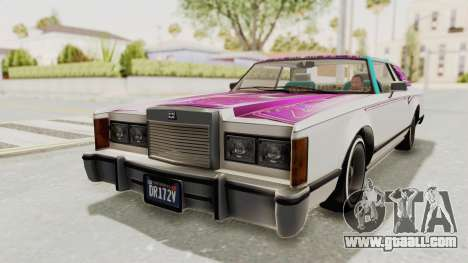 GTA 5 Dundreary Virgo Classic Custom v2 for GTA San Andreas engine