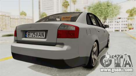 Audi A4 2002 Stock for GTA San Andreas left view