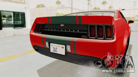 GTA 5 Vapid Dominator v2 SA Lights for GTA San Andreas upper view