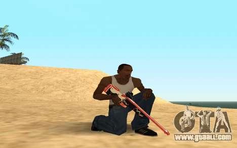 Rifle Cyrex for GTA San Andreas seventh screenshot