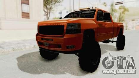 Chevrolet Silverado Long Bed for GTA San Andreas