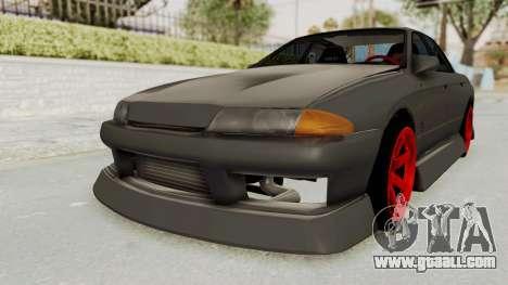 Nissan Skyline R32 4 Door Drift for GTA San Andreas back left view