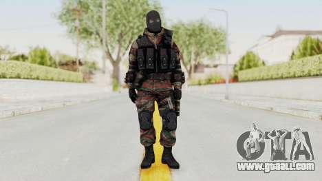Battery Online Russian Soldier 5 v2 for GTA San Andreas second screenshot
