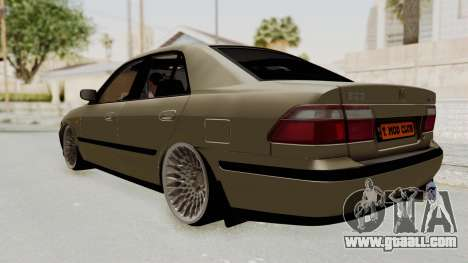 Mazda 626 Air for GTA San Andreas back left view