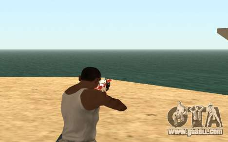 Rifle Cyrex for GTA San Andreas fifth screenshot