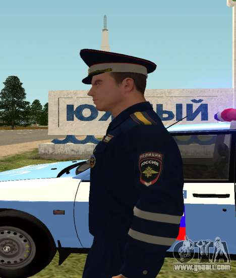 Sergeant DPS for GTA San Andreas third screenshot