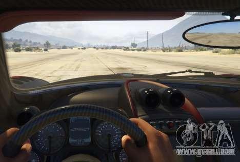 GTA 5 2016 Pagani Huayra BC back view