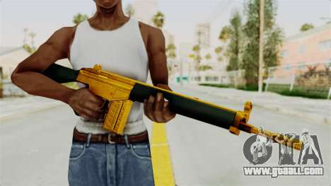 G3A3 Gold for GTA San Andreas third screenshot